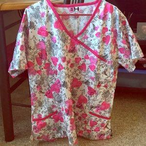 Tops - Beverly Hills scrubs shirt. New 2X fit.
